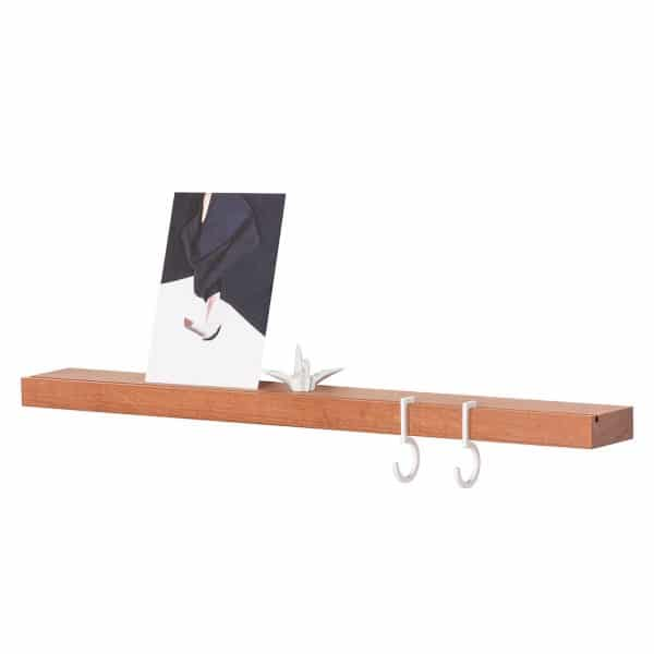 Figr1 Wooden Wall Shelf 50 Jatoba