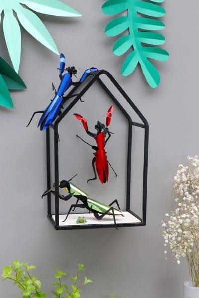 Assembli 3D Paper Insect Praying Mantis