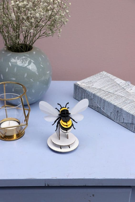 Assembli 3D Paper Insect Bumble Bee