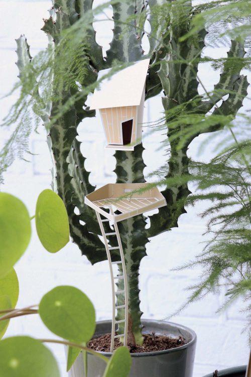 Assembli 3D Paper Tiny House Jasmin