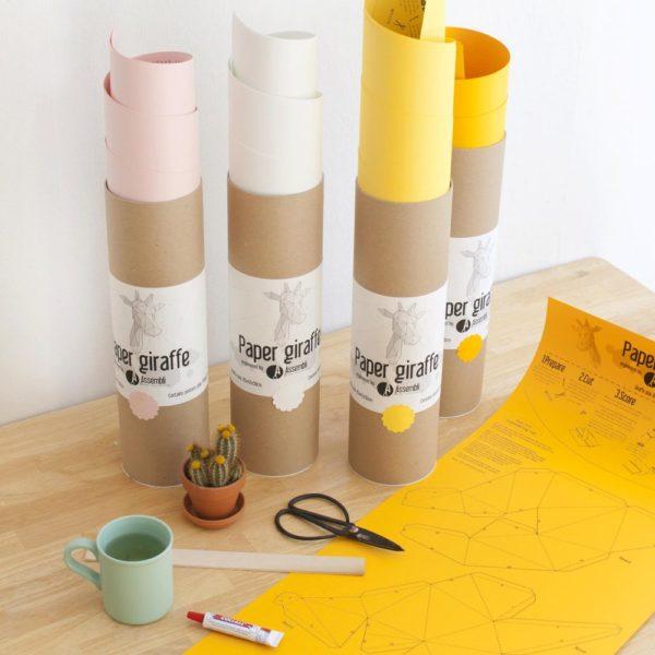 Assembli 3D Paper Giraffe Kit