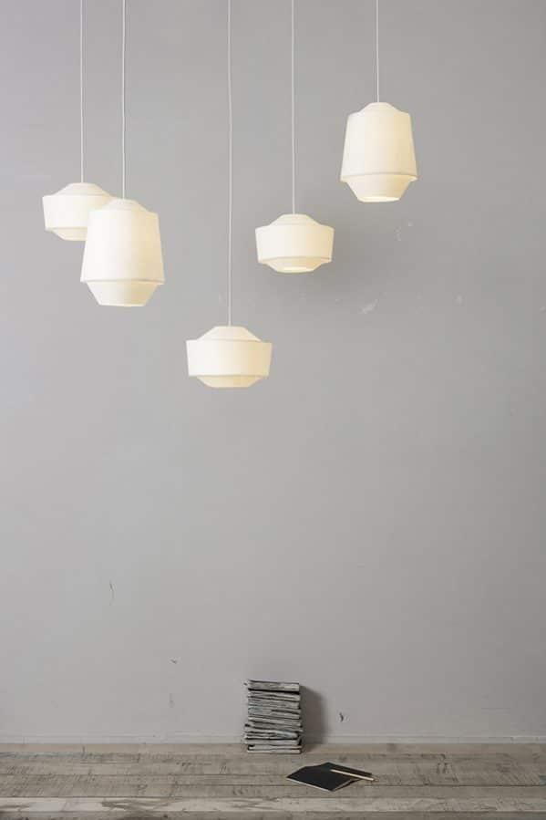 Assembli 3D Paper Loena Lamp Tall Wide