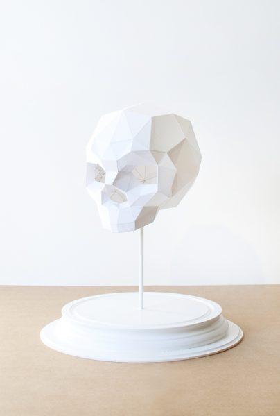 Assembli 3D Paper Sapiens Skull
