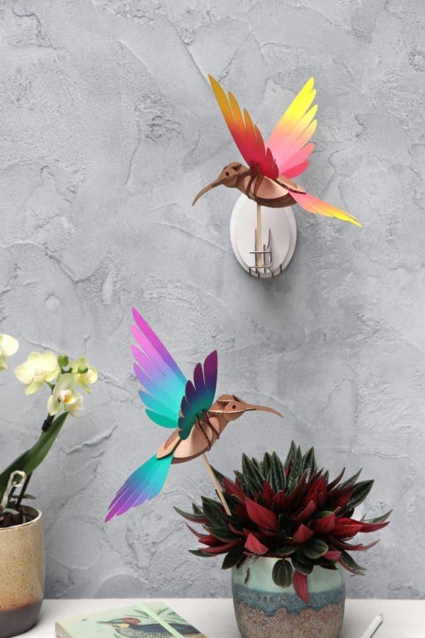 Assembli 3D Paper Bird Colibris