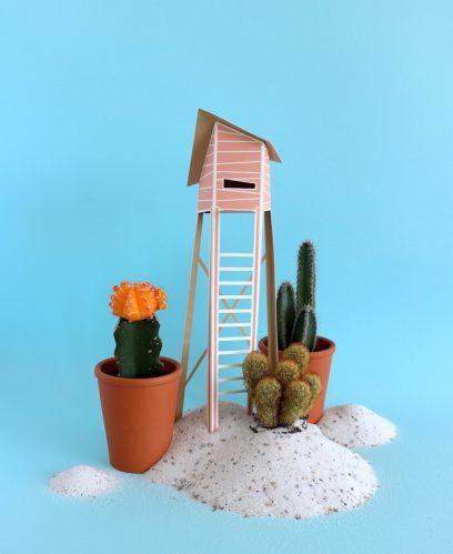 Assembli 3D Paper Tiny House